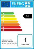 Sferiche colorate LED 1W B22 30Lm Giallo