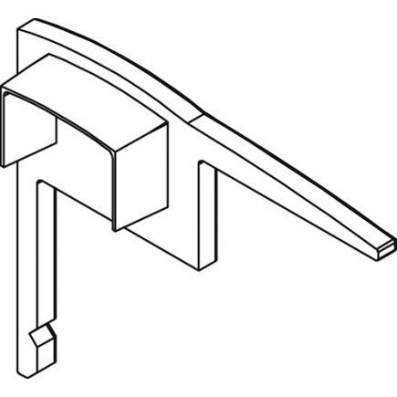 Embouts pour profile aluminium 36.3x31.1