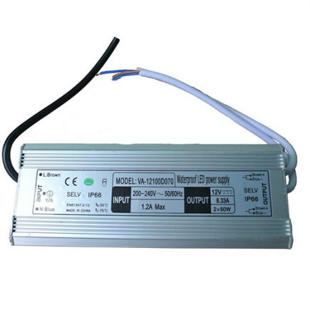 Driver Led 100W 24V DC IP66