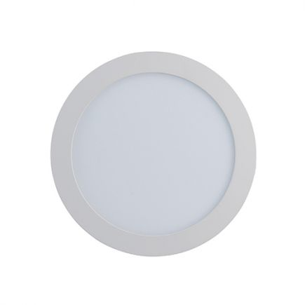 Kili - Faretti LED Ø120x25 inc.Ø108 6W 4000K 440lm 110° bianco