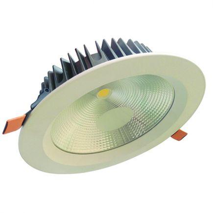 Alhena - Faretto a LED da incasso Ø230x72 inc.Ø200 25W 3000K 2130lm 108° bianco