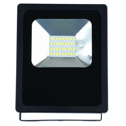 Isonoe -EcoWatts - Lampada del proiettore LED IP 65 143x48x182 20W 3000K 1600lm 120° nero