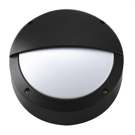 Gredi - wall lamp Ø220x80 E27 60W max. black