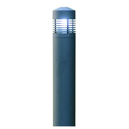 Dam - Bollard light Ø170x800 E27 60W max. grey