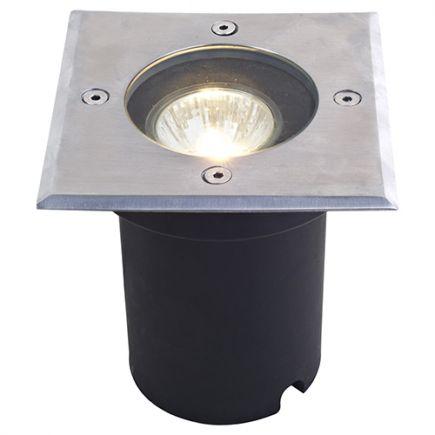 Kastra - Incasso a pavimento 120x120x128 GU10 35W max. argento