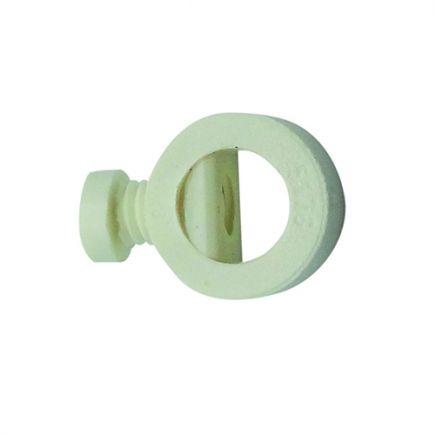 Maintien de câb. av. vis de blocage ext. Ø10.5mm int.Ø6.5mm blanc