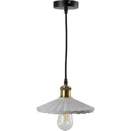 CONCRETE - Wave pendant lamp - E27