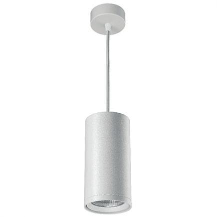 Atlas - Downlights LED a sospensione Ø85x2500 12W 3000K 1020lm 20° bianco