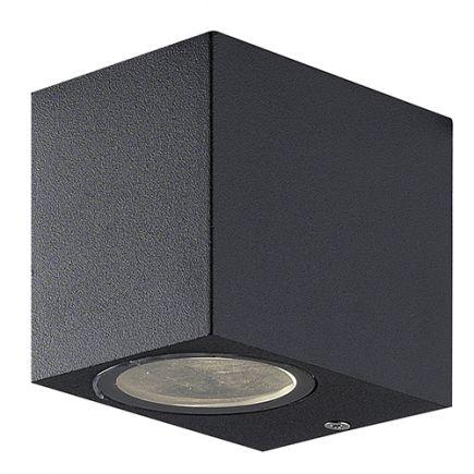 Carrol - Wall lamp downward 93x68x80 GU10 11W max dark grey