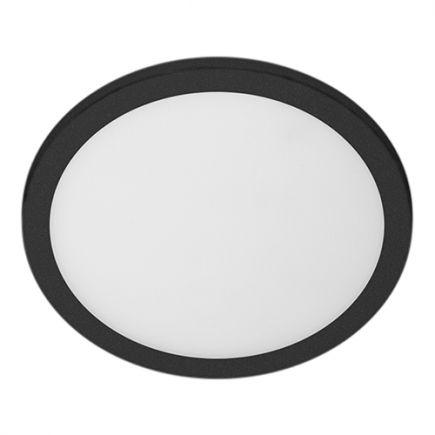 Rama - Plafoniera a LED IP 65 Ø270x45 14W 3000K 1000lm 120° grigio scuro