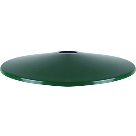 Abat-jour métal évasé ø300mm vert sapin satiné