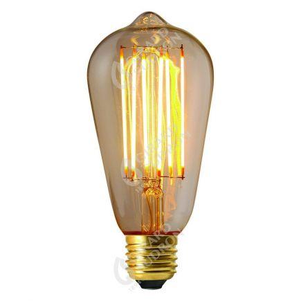 Edison Filament LED 6W E27 2300K 450Lm Dim. Cl. RA 90
