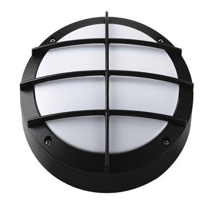 Gredi - Lampada da parete per esterno Ø220x80 E27 60W max. nero
