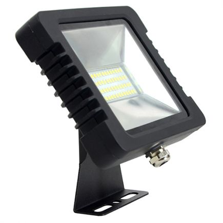Yonna - Lampada del proiettore LED IP 65 250x188x51 50W 4000K 3800lm 110° nero