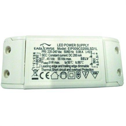 Driver dimmerabile per faretto LED 105x42x24 7W Triac Dim bianco Dim