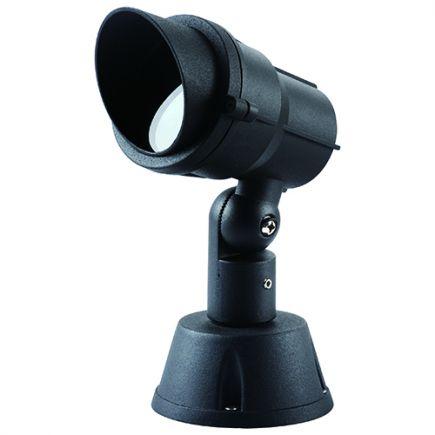 Cauda - Proiettore su asta IP65 Ø96x155x206 GU10 35W max. nero