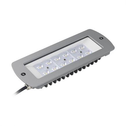 Sponde - Modulo LED 261x102x45 60W 3000K 6025lm 120° argento