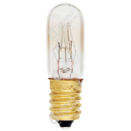 Lampada Tubo Segnaletica Incan. 15W E14 2750K 110 Dim. Ch.