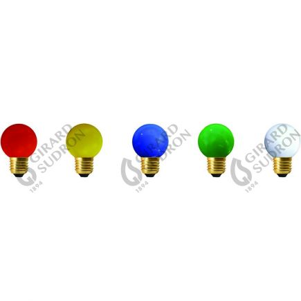 5 spherical LED 1W E27  Classic kit