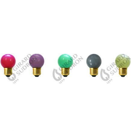 5 Spherical LED 1W E27 Jazz kit