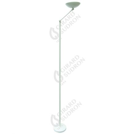 Thyone - Lampada LED da terra con dimmer Ø280x1950 35W 2800-3100K 3100lm 120° bianco Dim