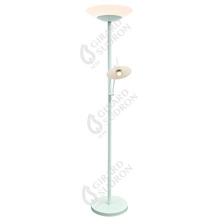 Carpo - Lampada da terra LED con lampada di lettura Ø400x1810 42+4.5W 3000K 3600+400lm 120° bianco Dim