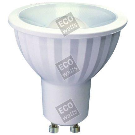 Ecowatts - Spot LED 7W GU10 2700K 580Lm 100° Ch.