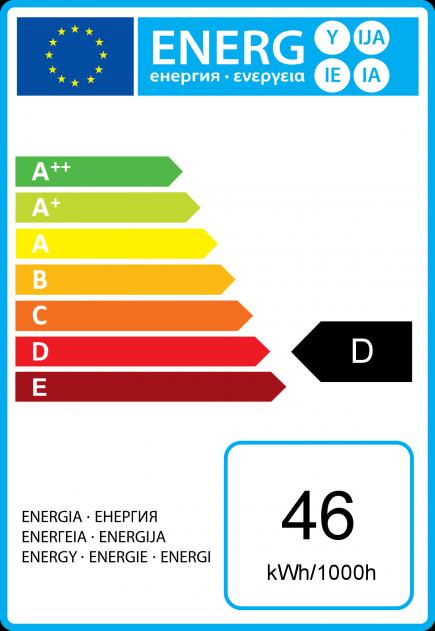 Standard A60 Eco Alogeno 46W B22 2750K 702Lm Dim. Ch.