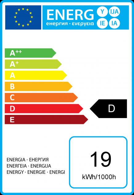 Fiamma C35 Eco Alogeno 19W E14 2750K 219Lm Dim. Ch.