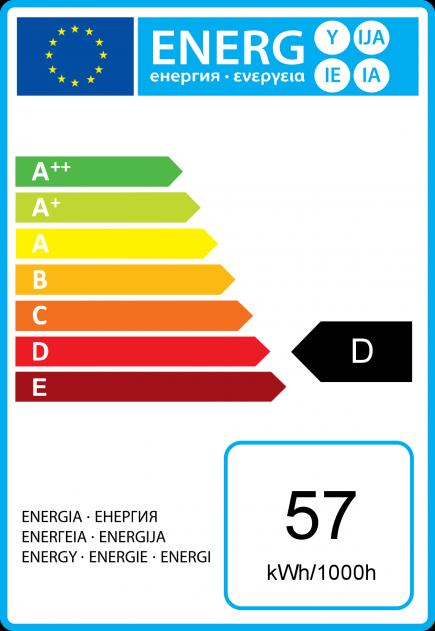Standard A60 Eco Alogeno 57W E27 2750K 920Lm Dim. Ch.
