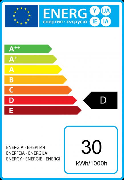 Standard A60 Eco Alogeno 30W B22 2750K 410Lm Dim. Ch.