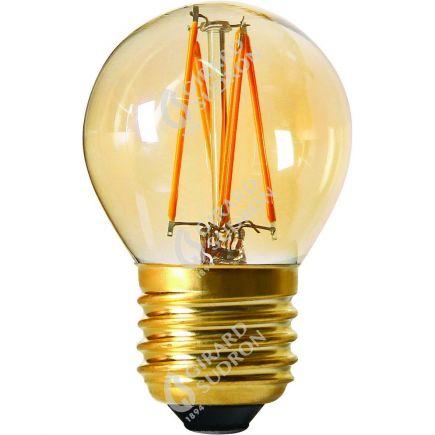 Sferica G45 Filamento LED 4W E27 2200K 260Lm Dim. Amb.