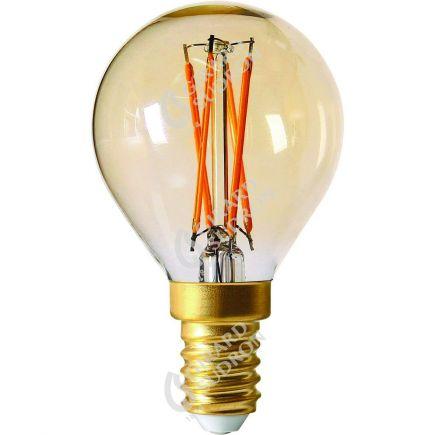 Sferica G45 Filamento LED 4W E14 2200K 260Lm Dim. Amb.
