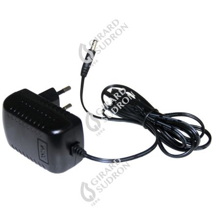 Mains battery charger eur pour projecteur LED portatif black