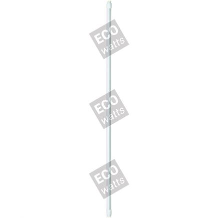 EcoWatts - Tubo LED T8 G13 60cm 10W 4000K 900Lm Ballast Compatibile Ferro-Magnetico