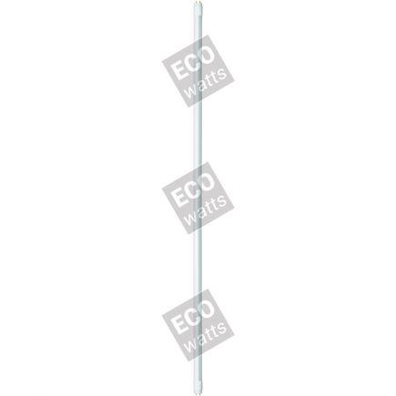 EcoWatts - Tubo LED T8 G13 90cm 14W 4000K 1200Lm Ballast Compatibile Ferro-Magnetico