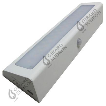 Menkar - Illuminazione per mobili LED 210x55x30 1W 3000K 100lm 90° bianco