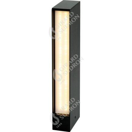 Rise - LED Illuminazione di passaggi P65 50x100x450 15W 4000K 820lm 135° nero