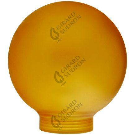 Vetro Globe D80 Filettatura 31,5mm Ambra