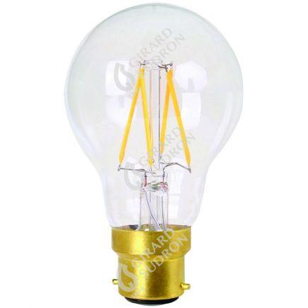 Standard A60 Filamento LED 8W B22 2700K 806Lm Dim. Ch.