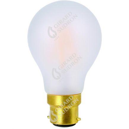 Standard A60 Filamento LED 8W B22 2700K 780Lm Dim. Mat
