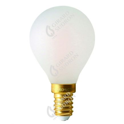 Sferica G45 Filamento LED 4W E14 2700K 300Lm Dim. Mat