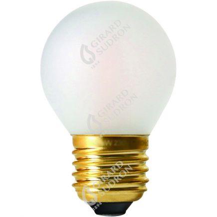 Sferica G45 Filamento LED 4W E27 2700K 330Lm Dim. Mat