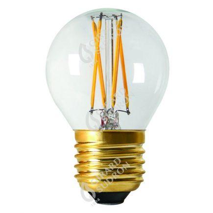 Sferica G45 Filamento LED 4W E27 4000K 380Lm Dim. Ch.