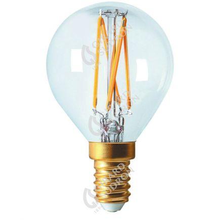 Sferica G45 Filamento LED 4W E14 4000K 350Lm Dim. Ch.