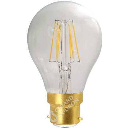 Standard A70 Filamento LED 8W B22 2700K 1055Lm Ch.