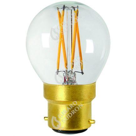 Sferica G45 Filamento LED 4W B22 2700K 350Lm Dim. Ch.