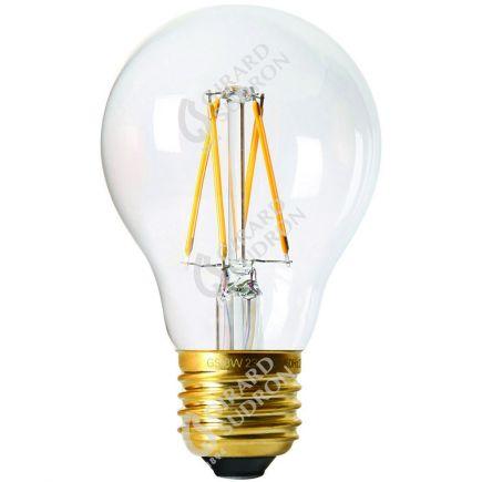 Standard A60 Filamento LED 8W E27 4000K 900Lm Dim. Ch.