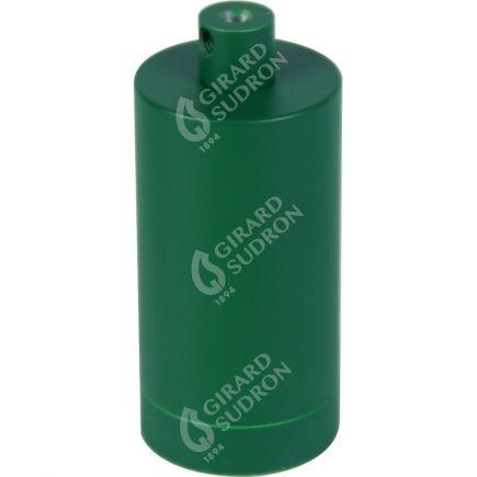 Douille E27 aluminium ø48mm H.105mm vert sapin