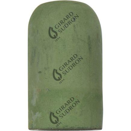 Douille E27 béton ø52mm H82mm vert céladon